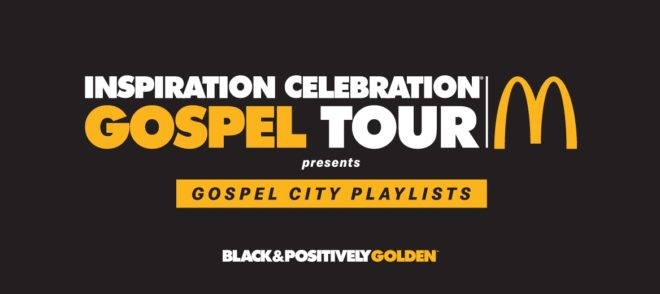 Gospel tour ad