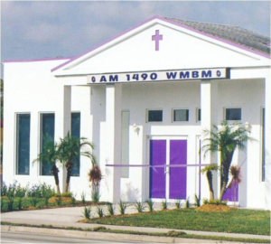 Front exterior of the WMBM Radio station
