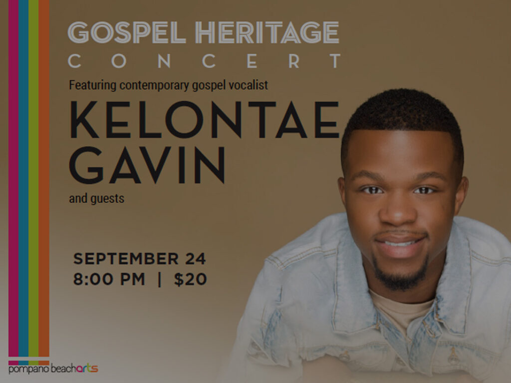 Gospel Heritage Concert - Kelontae Gavin & Guests