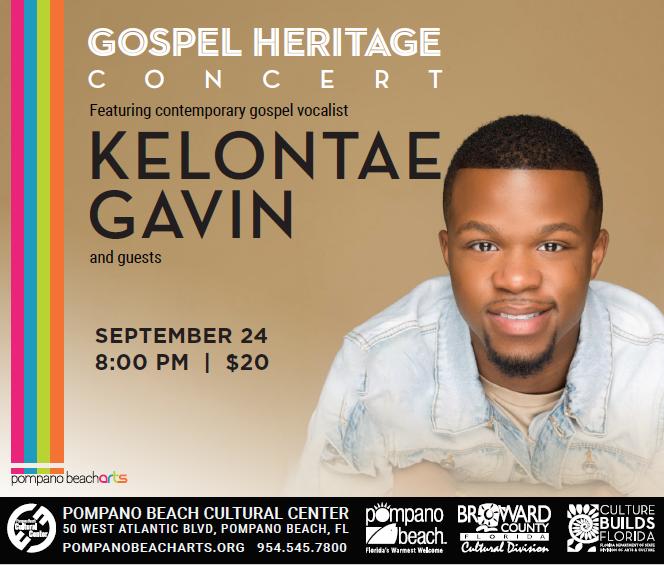Gospel Heritage Concert - Kelontae Gavin